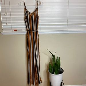 Ambiance Striped Jumpsuit